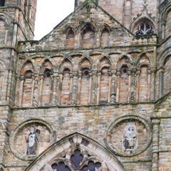 Durham Cathedral north transept upper levels