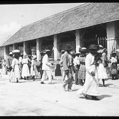 market in Kingston