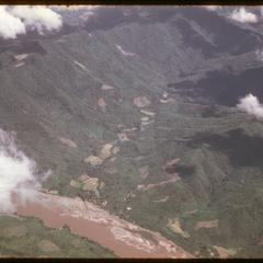 Mekong River and mountains