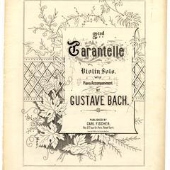2nd Tarantella for violin and piano