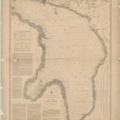General chart of Lake Huron