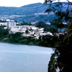 View of European Quarter of Bukavu