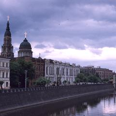 Annunciation Cathedral on the river