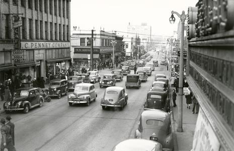 South Eighth Street, 1945