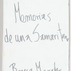 Memorias de una samaritana