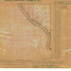 [Public Land Survey System map: Wisconsin Township 25 North, Range 19 West]