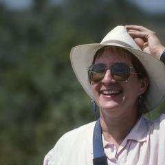 Linda Vorobeck en route to Rancho Cielo