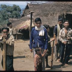 Kammu (Khmu') men with rifles