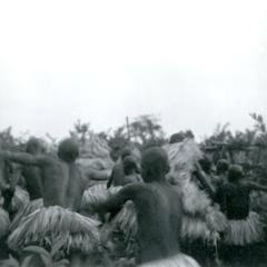 "Initiates (Babyan) Chasing the ""White Fowl"" (Nkonkan)"