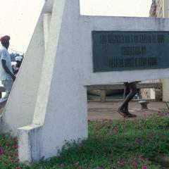 Monument to Dockworkers Martyred in 1959 Encounter with Portuguese Forces
