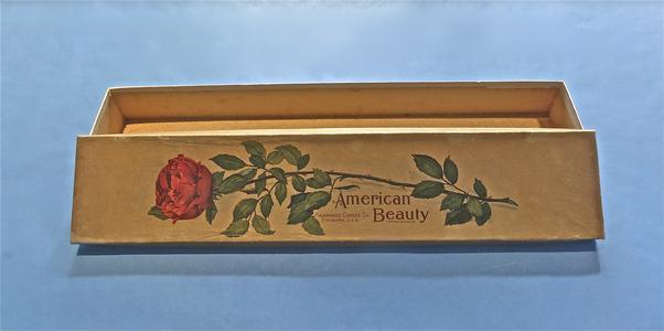 """American Beauty"" corset box"