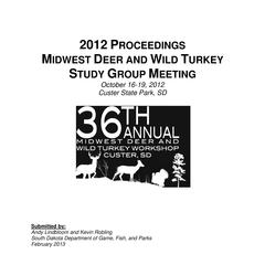 [Proceedings of the Midwest Deer and Wild Turkey Study Group Annual Meeting, 2013]
