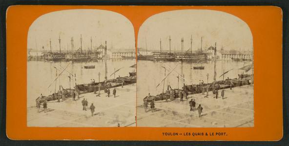 Toulon -- les quais & le port