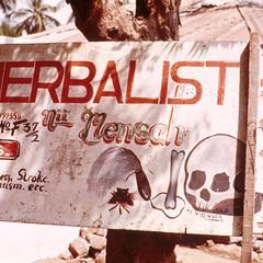 Advertisement for Herbalist