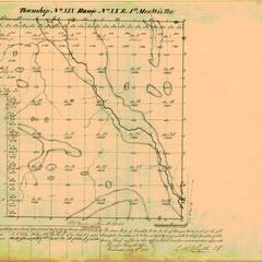 [Public Land Survey System map: Wisconsin Township 19 North, Range 20 East]