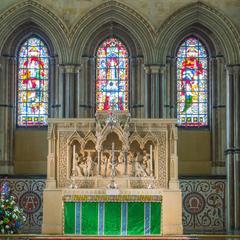 Rochester Cathedral interior presbytery