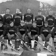 UW men's hockey team