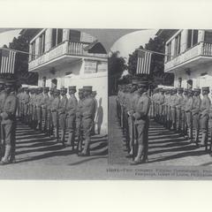 First Company, Filipino Constabulary, Pampanga, 1900-1910