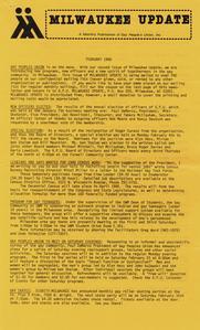 Milwaukee Update : February 1980