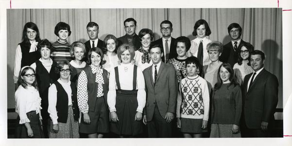 Forensics Club group photograph