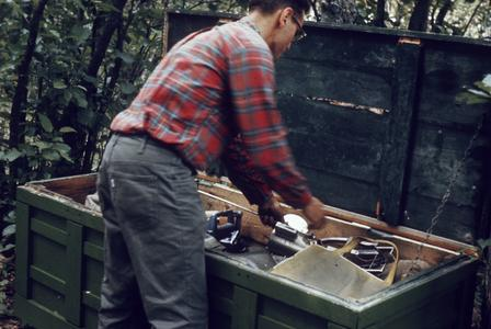 Sandford (Sandy) Engel research on fish distribution and coho stocking (2)