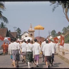Officials following Prabang
