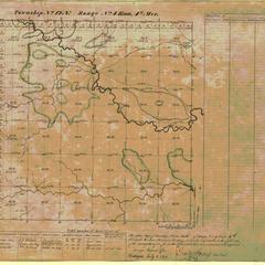[Public Land Survey System map: Wisconsin Township 12 North, Range 04 East]