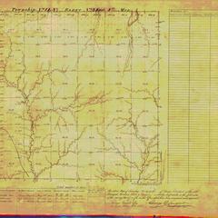 [Public Land Survey System map: Wisconsin Township 14 North, Range 03 East]