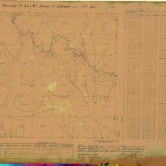 [Public Land Survey System map: Wisconsin Township 37 North, Range 05 East]