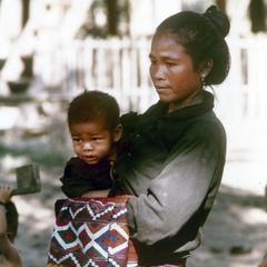 Kalom woman in Houa Khong Province