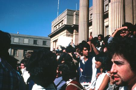 Anti-Republic Day Rally, University of the Witwatersrand, Johannesburg