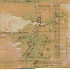 [Public Land Survey System map: Wisconsin Township 27 North, Range 20 West]