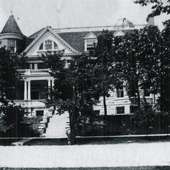 The Jeffery's second residence, Chicago, Illinois