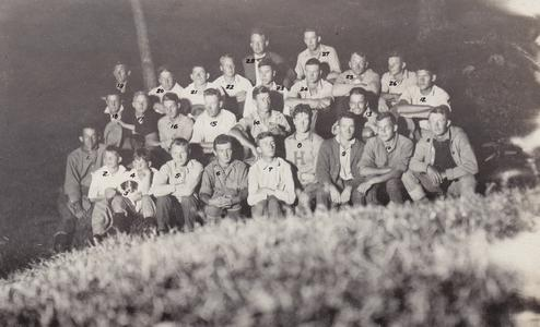 1918 Training camp participants