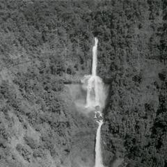 Waterfalls on the western rim of the Boloven Plateau in Sedone Province