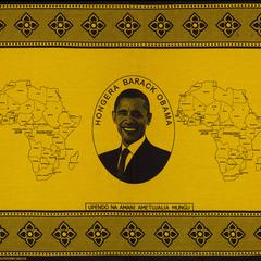 Hongera Barack Obama - yellow