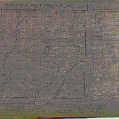 [Public Land Survey System map: Wisconsin Township 40 North, Range 02 West]