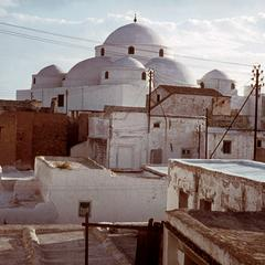 The Mosque of Sidi-Mahares in Tunis