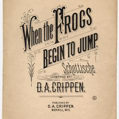 When the frogs begin to jump