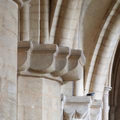 Peterborough Cathedral choir aisle capitals