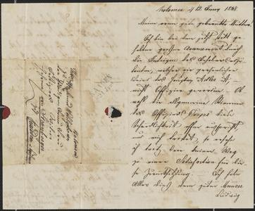 [Letter from Ludwig Sternberger to his mother, June 12, 1848]
