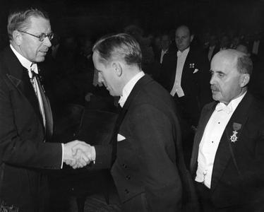 Arne Asplund and Crown Prince Gustav of Sweden