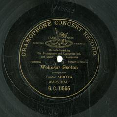 Wehosor Ssoton