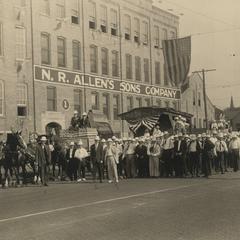 Allen Tannery parade floats