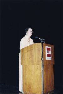 Dean Alicia Chavez at 2000 MCOR
