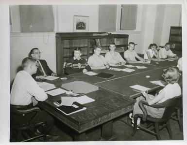 Stout Student Association meeting