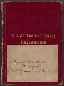 Crystal Falls region, Michigan : neighborhood of Michigamme River : [specimens] 32160-32199, 32787-32929