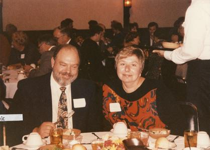 """Dick and Margaret Cleek at """"Silverbration"""""""