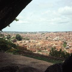 Abeokuta view from cave