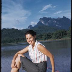 Mekong trip in prow